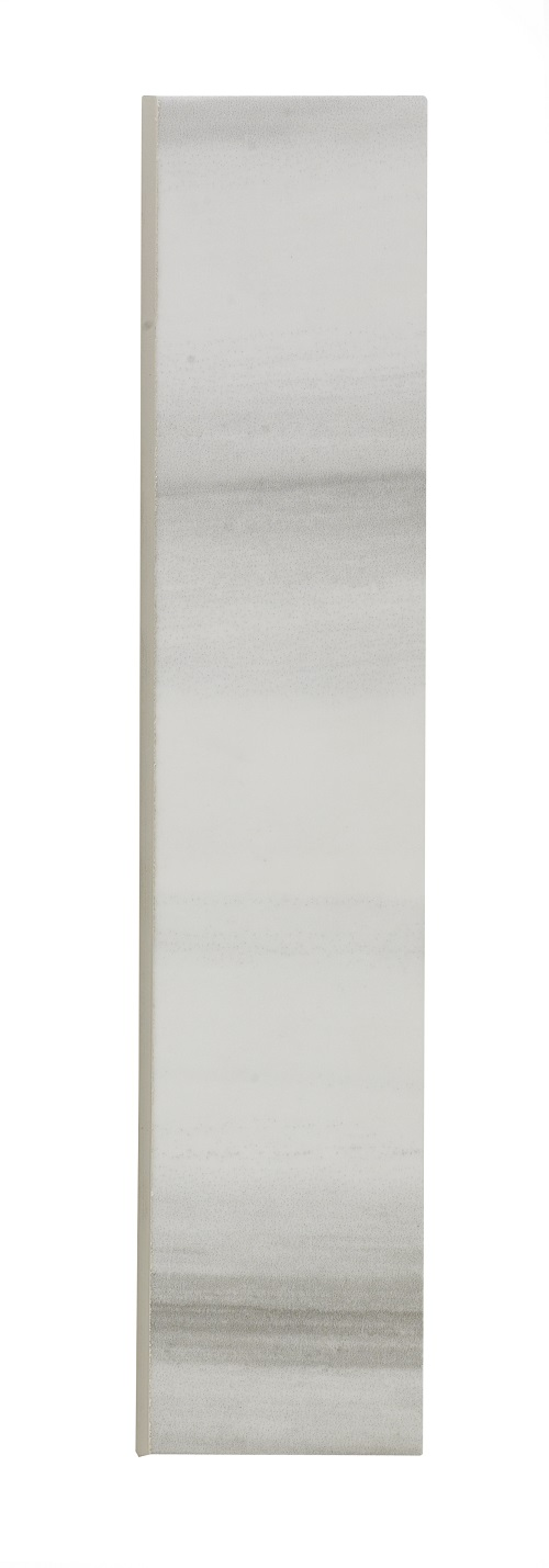 "Horizon Grey Ceramic Bullnose - 2"" x 10"" Image"