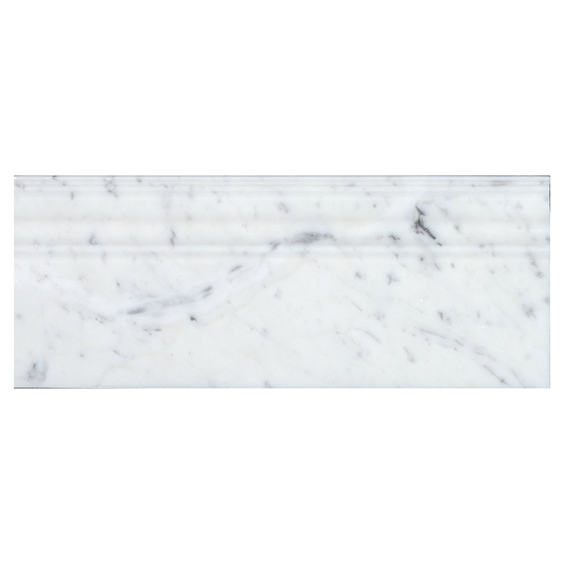 "Bianco Carrara Base - 5"" x 12"" Image"