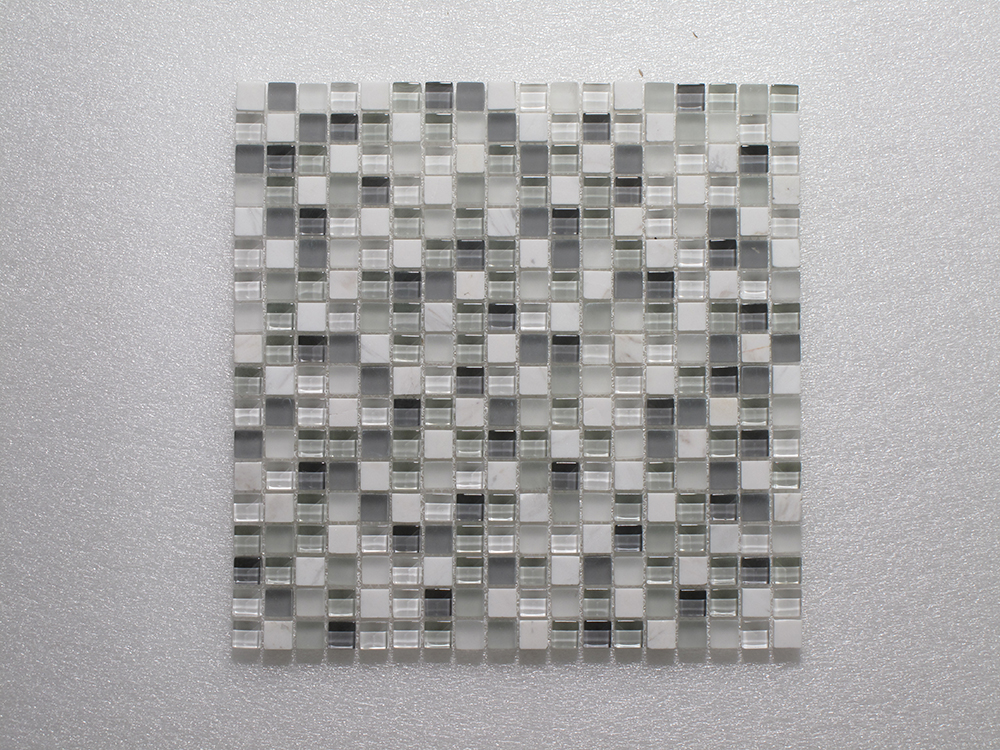 Glass & Stone Blend Square Mosaic MAG 001-SQ Image