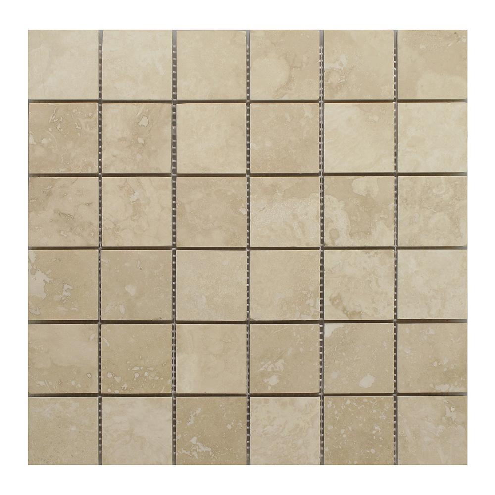 "Light (Chiaro / Ivory) Square - 2"" x 2"" Image"