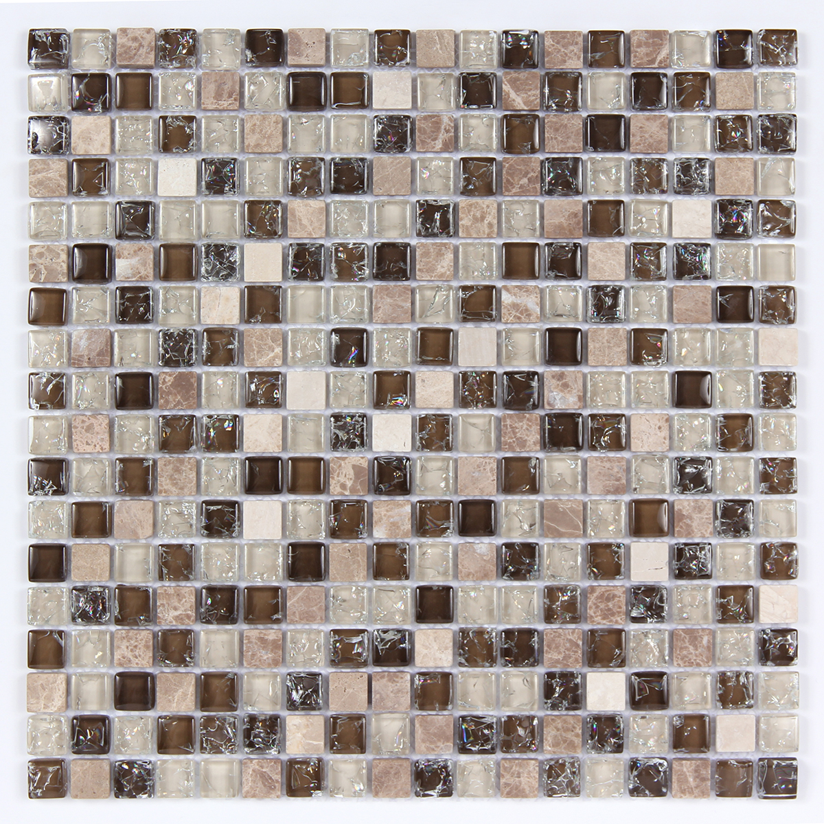 Glass & Stone Blend Square Mosaic MAG 4420-SQ Image
