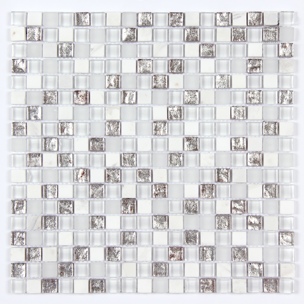 Glass & Stone Blend Square Mosaic MAG 4431-SQ Image