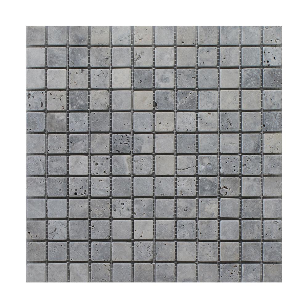 """Silver Square - 1"""" x 1"""" Image"""