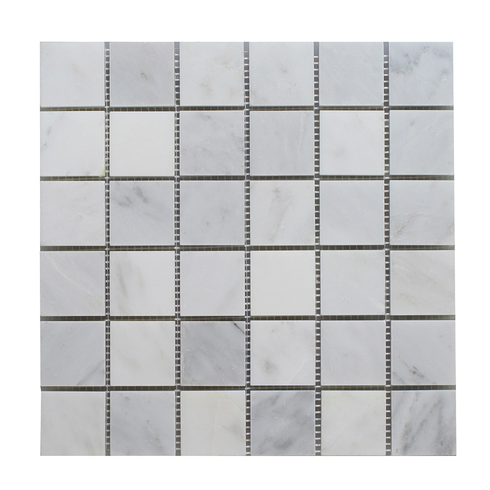 """Arabescato Square - 2""""x2"""" Image"""