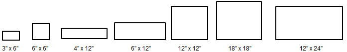 arabescato-honed-sizes