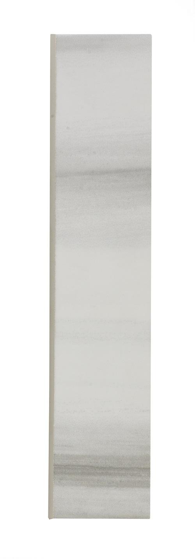"Horizon Grey Ceramic Bullnose - 2"" x 10"" Image"