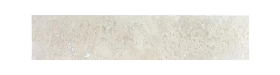 """Light (Chiaro / Ivory) Both Side Beveled - 6"""" x 36"""" Image"""