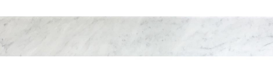 "Milas White Both Side Beveled - 6"" x 72"" Image"
