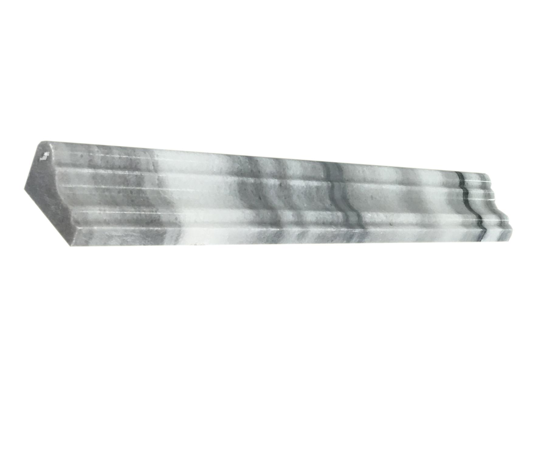 "Equator Crown Chair-Rail - 2"" x 12"" Image"