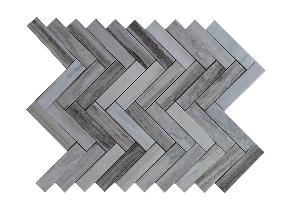 """Palissandro Herringbone - 1""""x4"""" Image"""