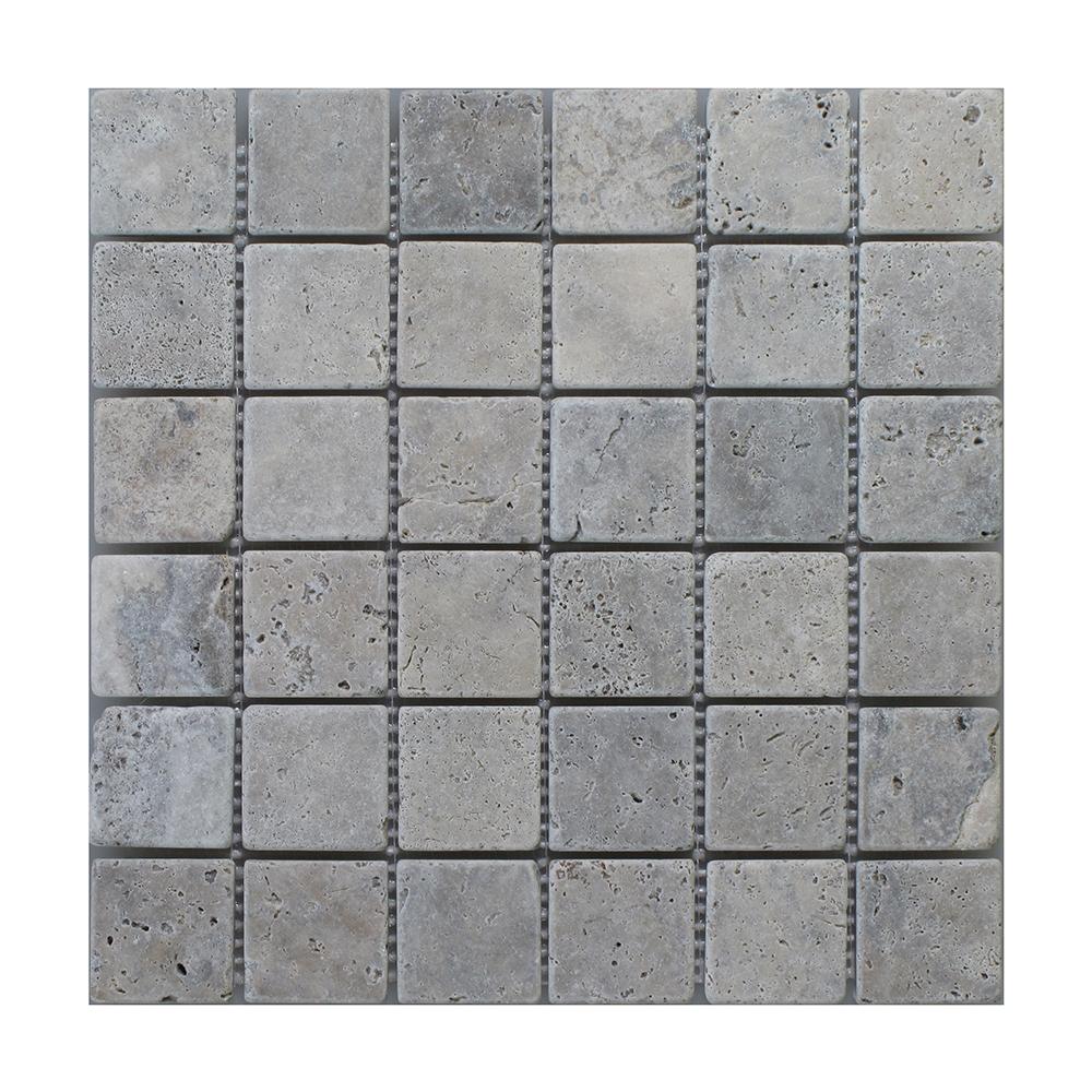 """Silver Square - 2"""" x 2"""" Image"""