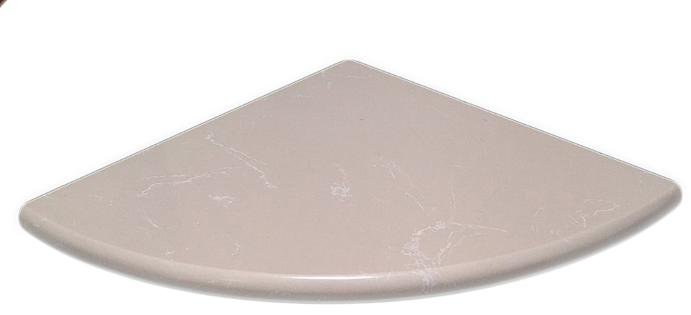 "Botticino Full Bullnose Both Side Polished - 9"" Image"